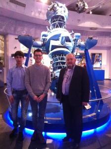 Делегация школы на юбилее Московского планетария