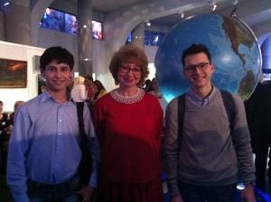 Три директора планетариев