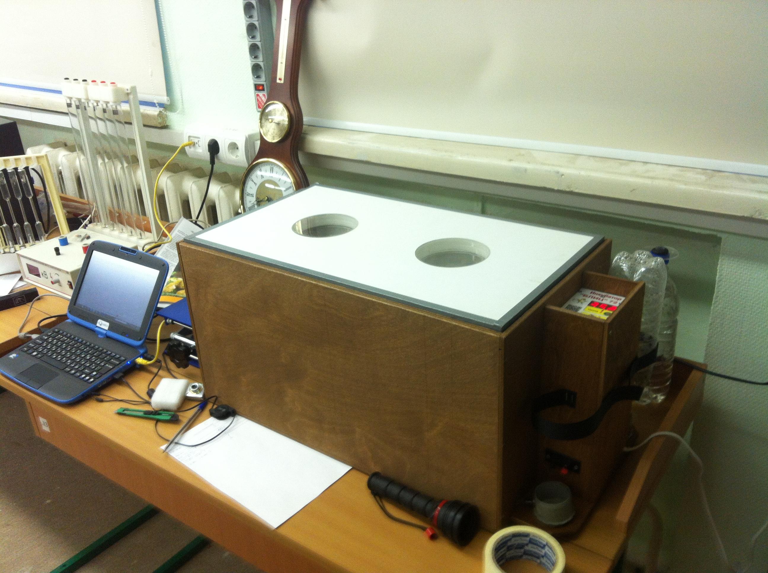 Страусиный инкубатор работает под контролем компьютера