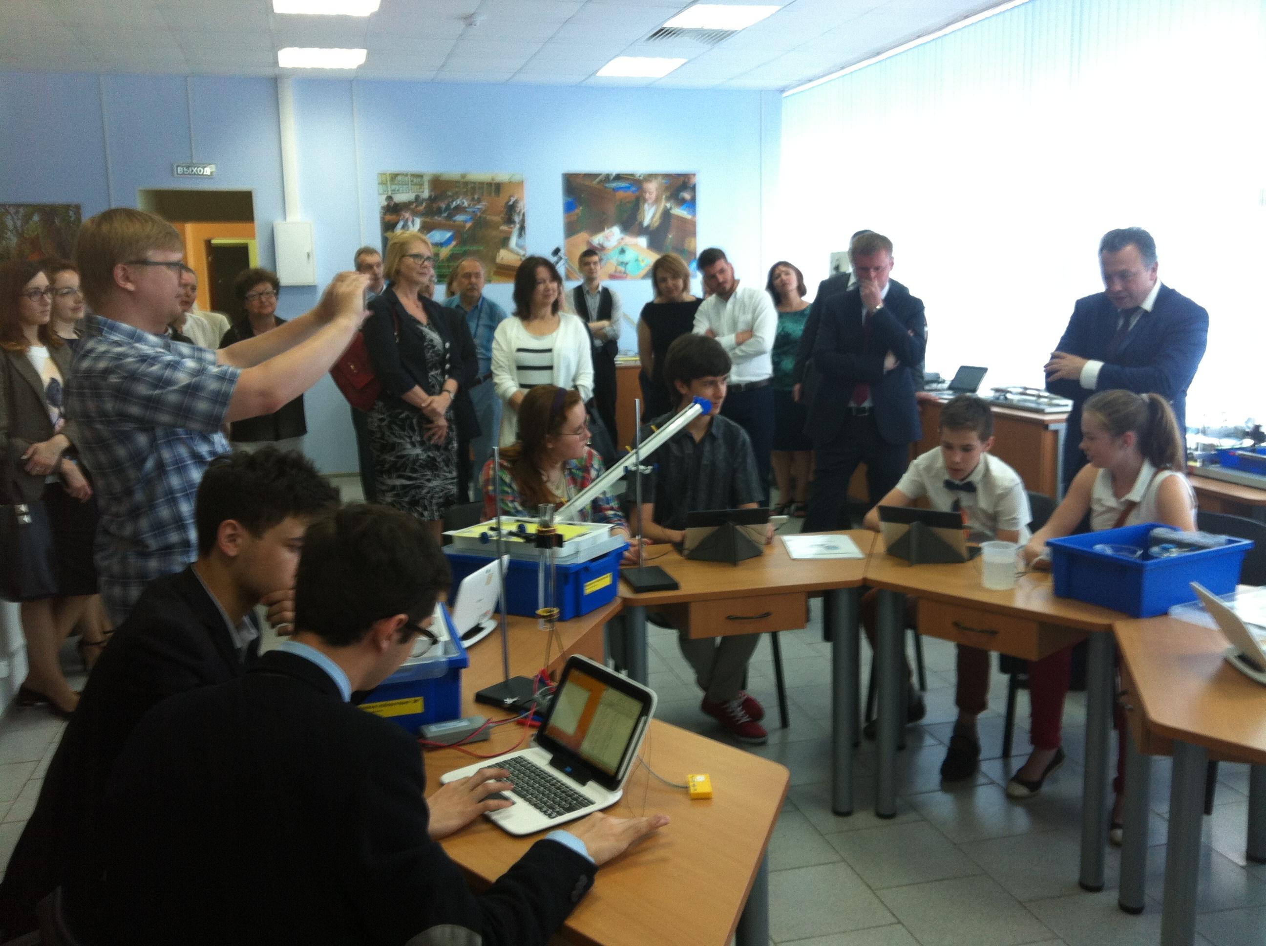 Заместитель министра Минобраинауки России Е.Ш. Каганов на мастер-классе