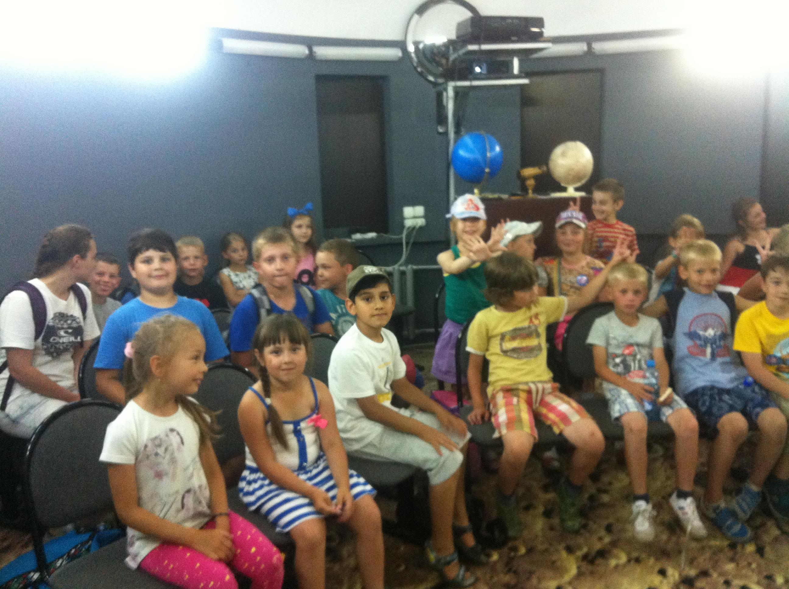 Лекция по астрономии  для школьников летнего лагеря