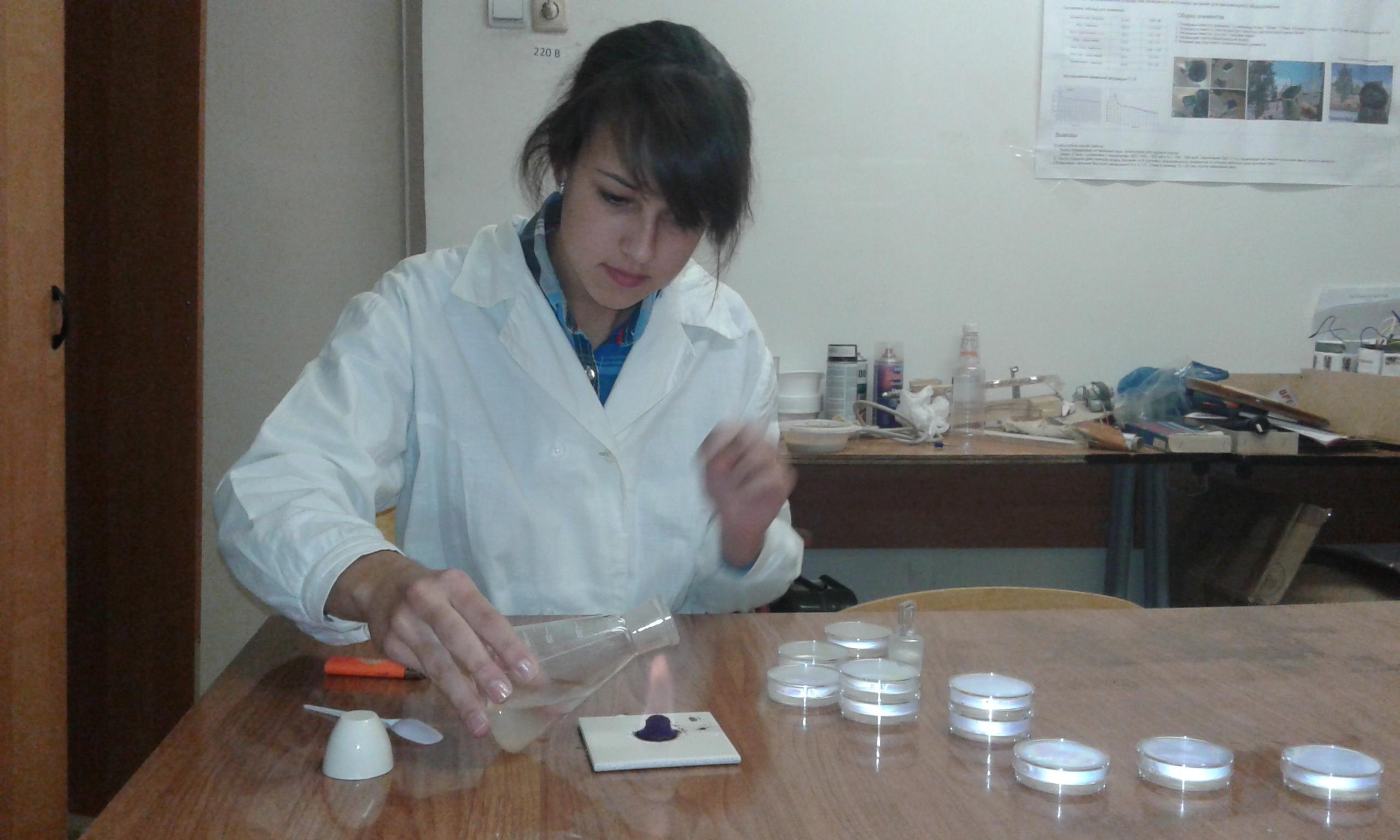 Подготовка посевов по микробиологии