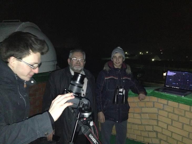 Наблюдения в обсерватории