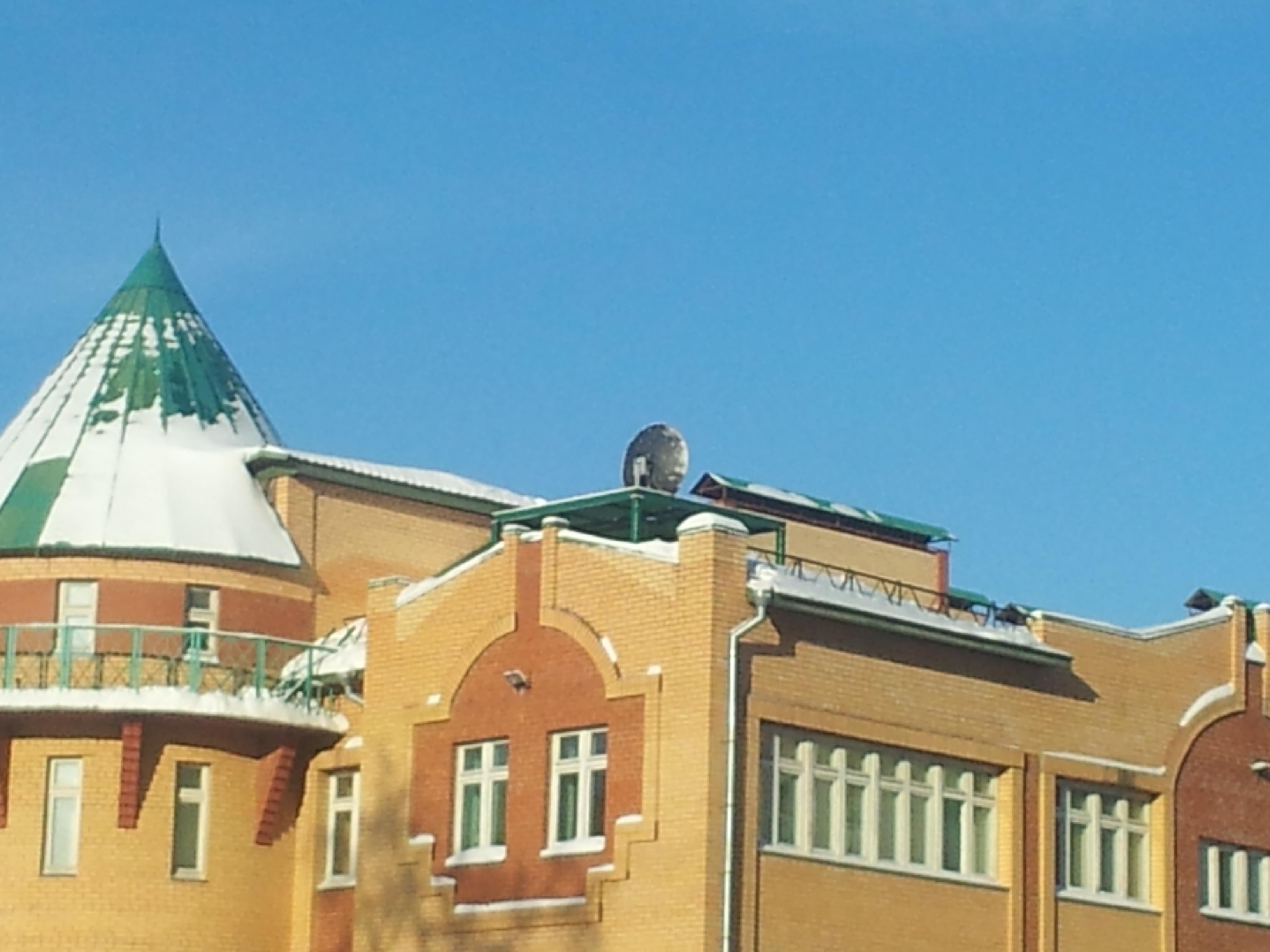Натюрморт школы с антенной