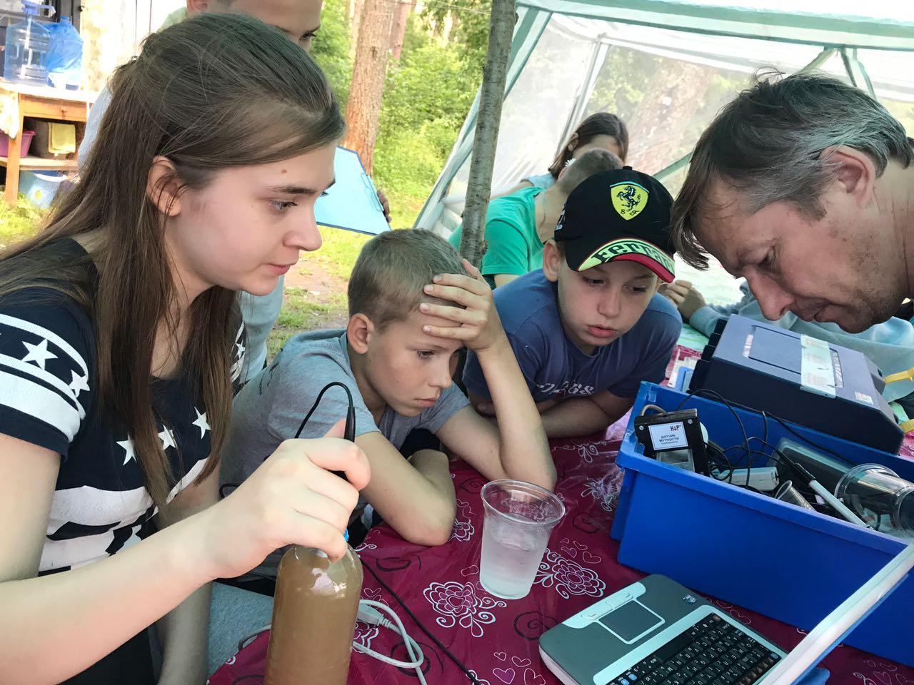 Проводим измерения с помощью цифровых лабораторий Научных развлечений