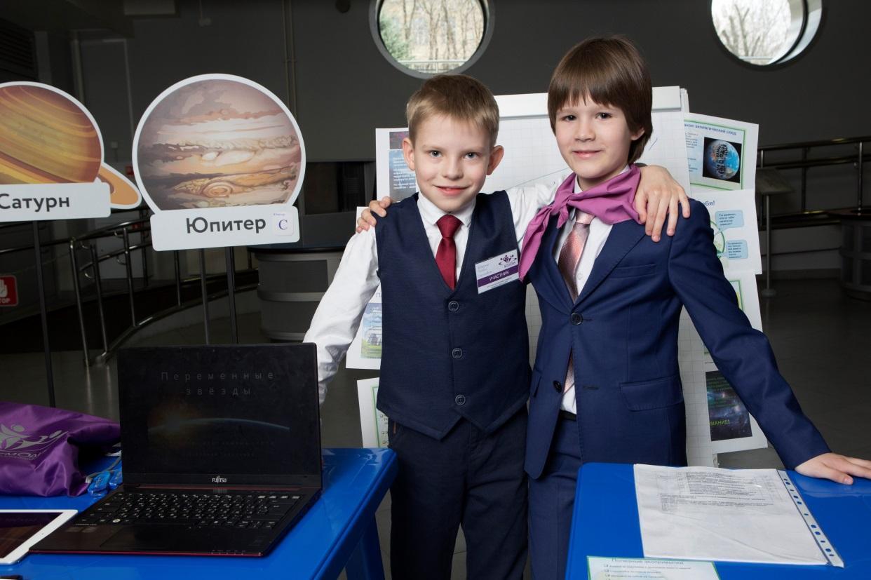 Самые юные участники фестиваля