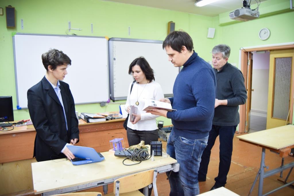 Андрей Бобырев рассказывает о новом кабинете технологий