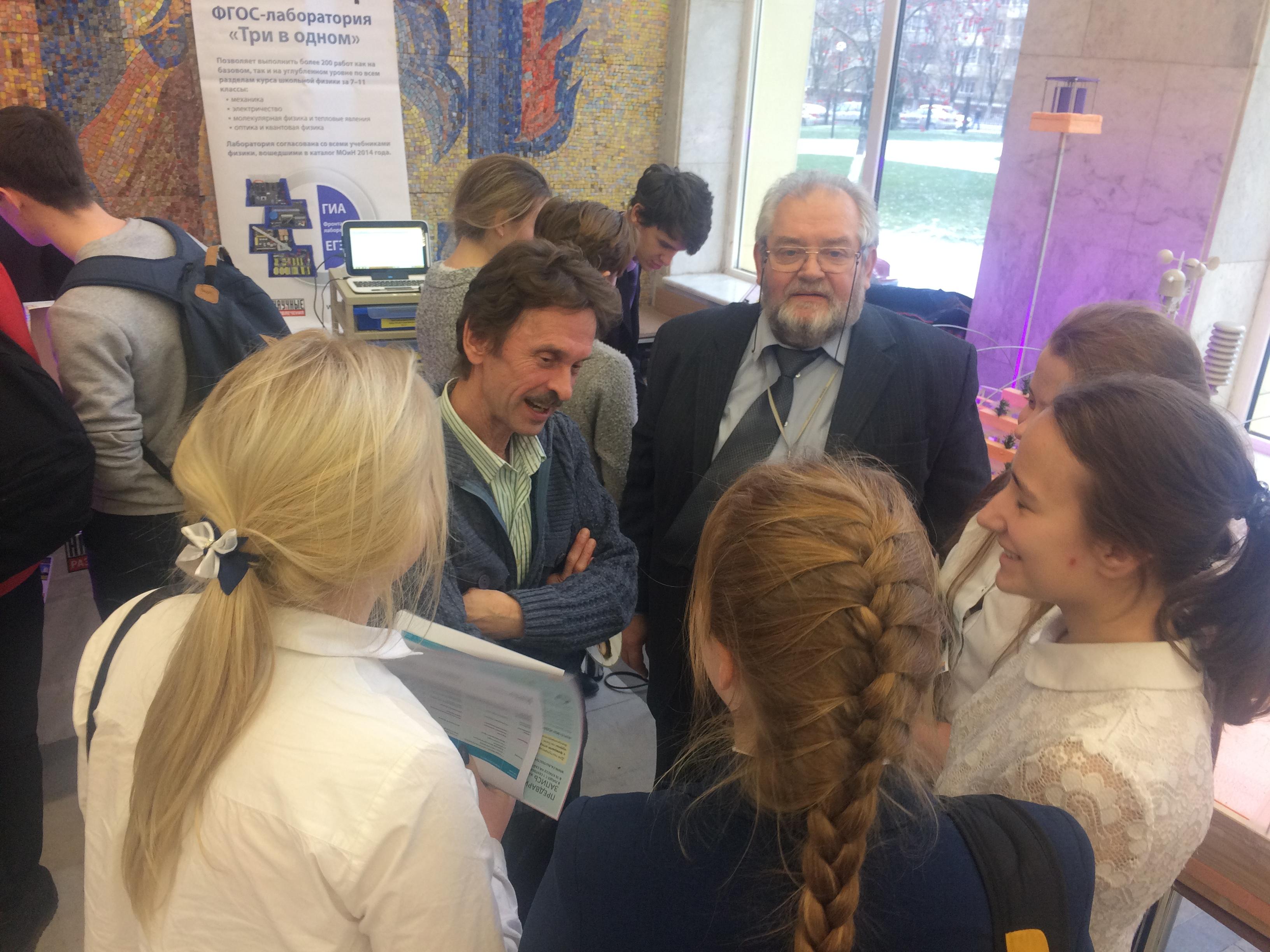 Учащиеся школ Подольска интересуются нашими последними разработками