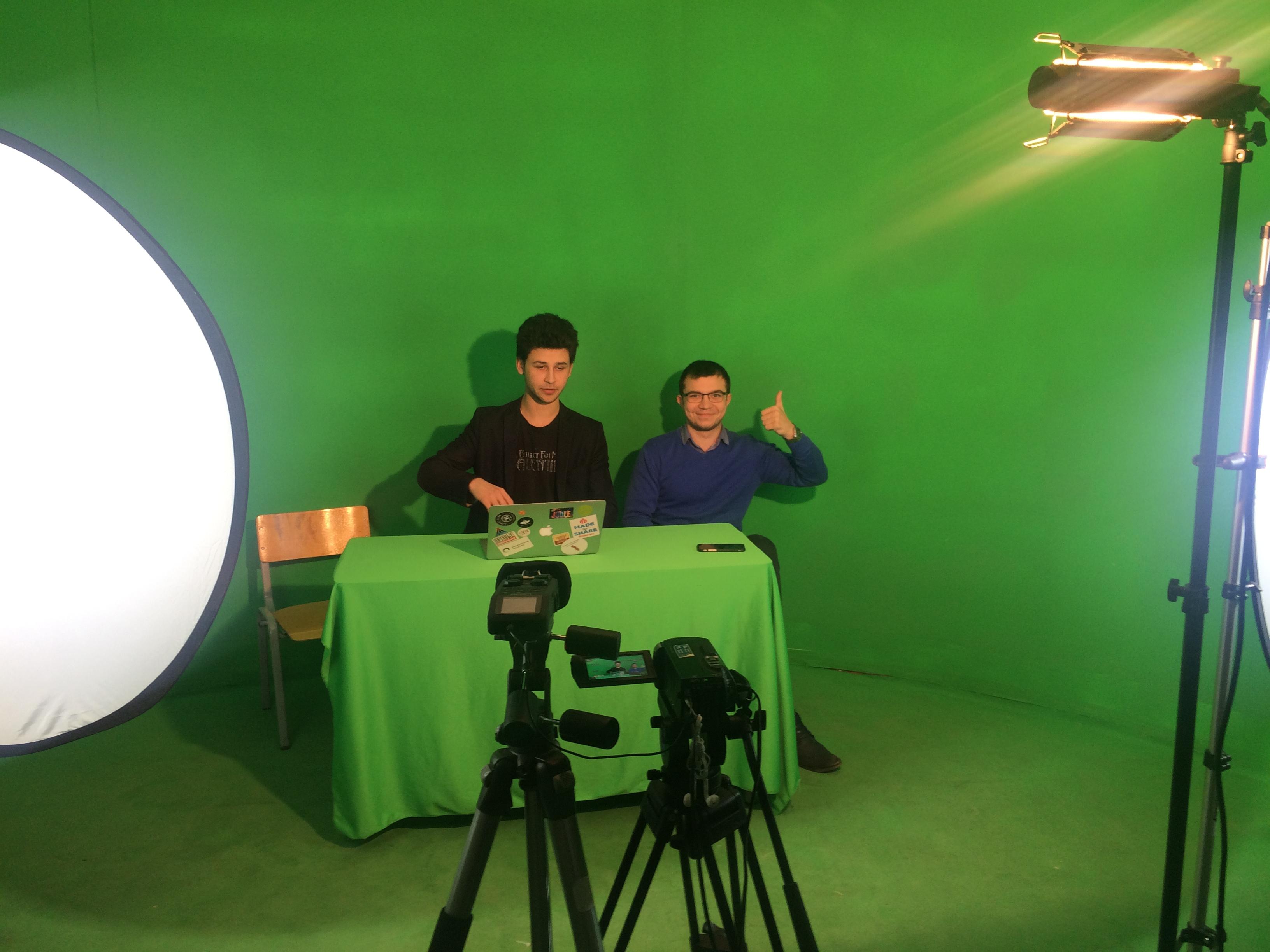 Вебинар для участников конференции из школьной телестудии