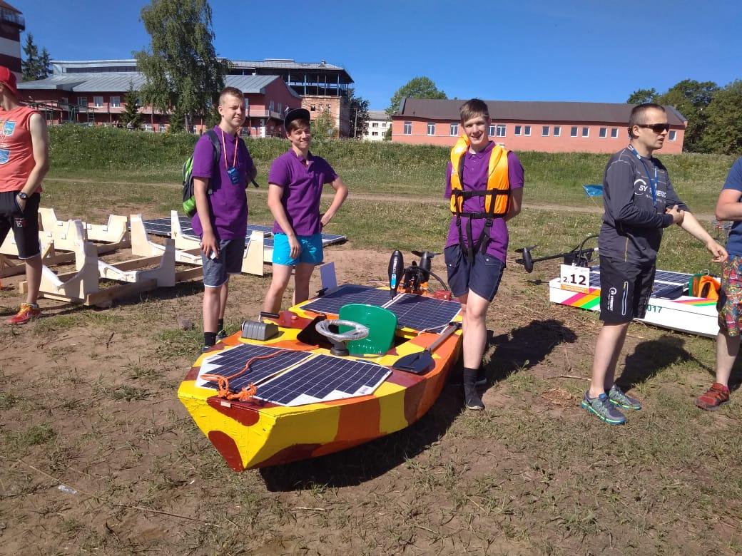 Готовим лодку к соревнованиям