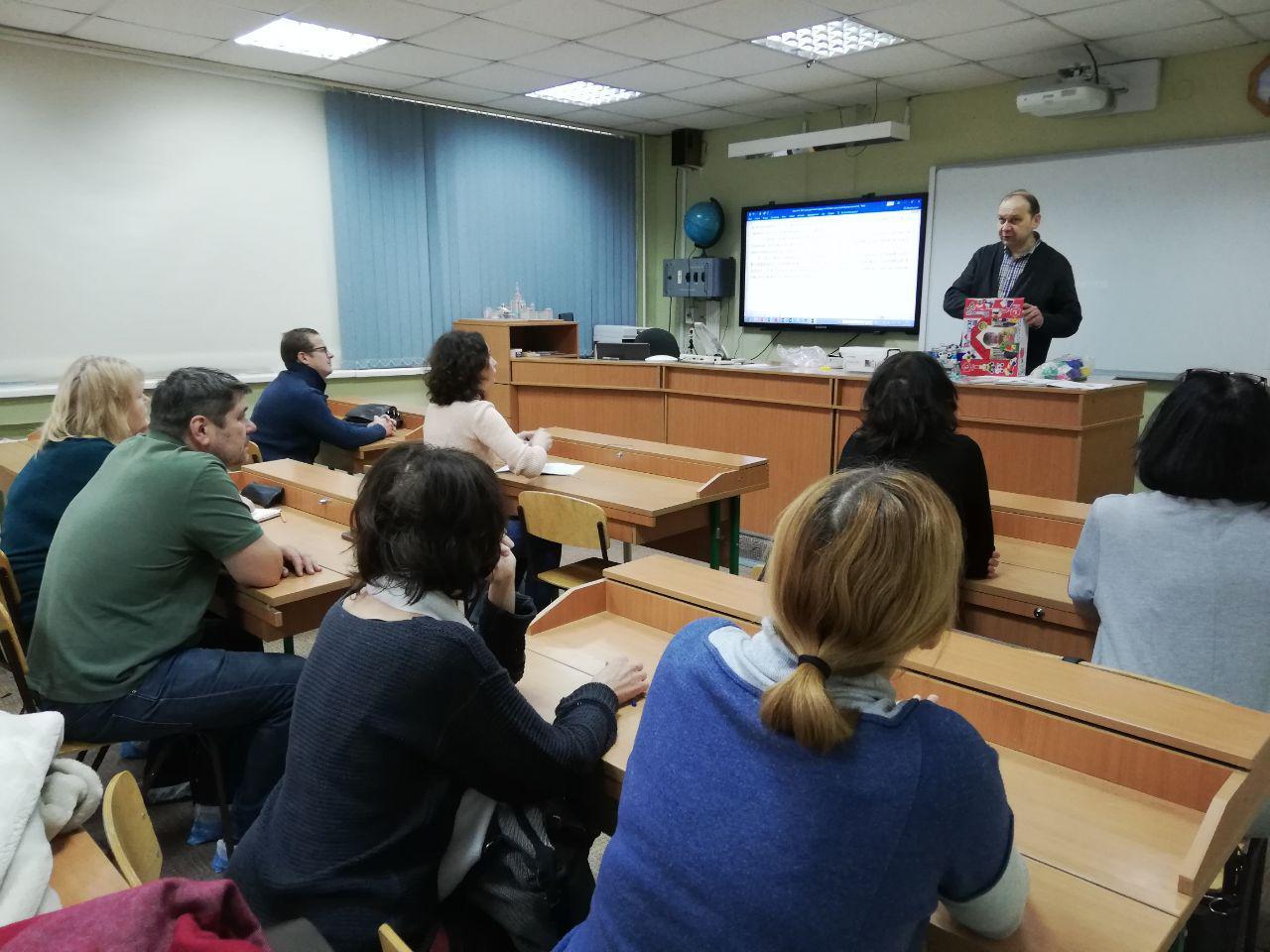 Презентация роботов от Научных развлечений