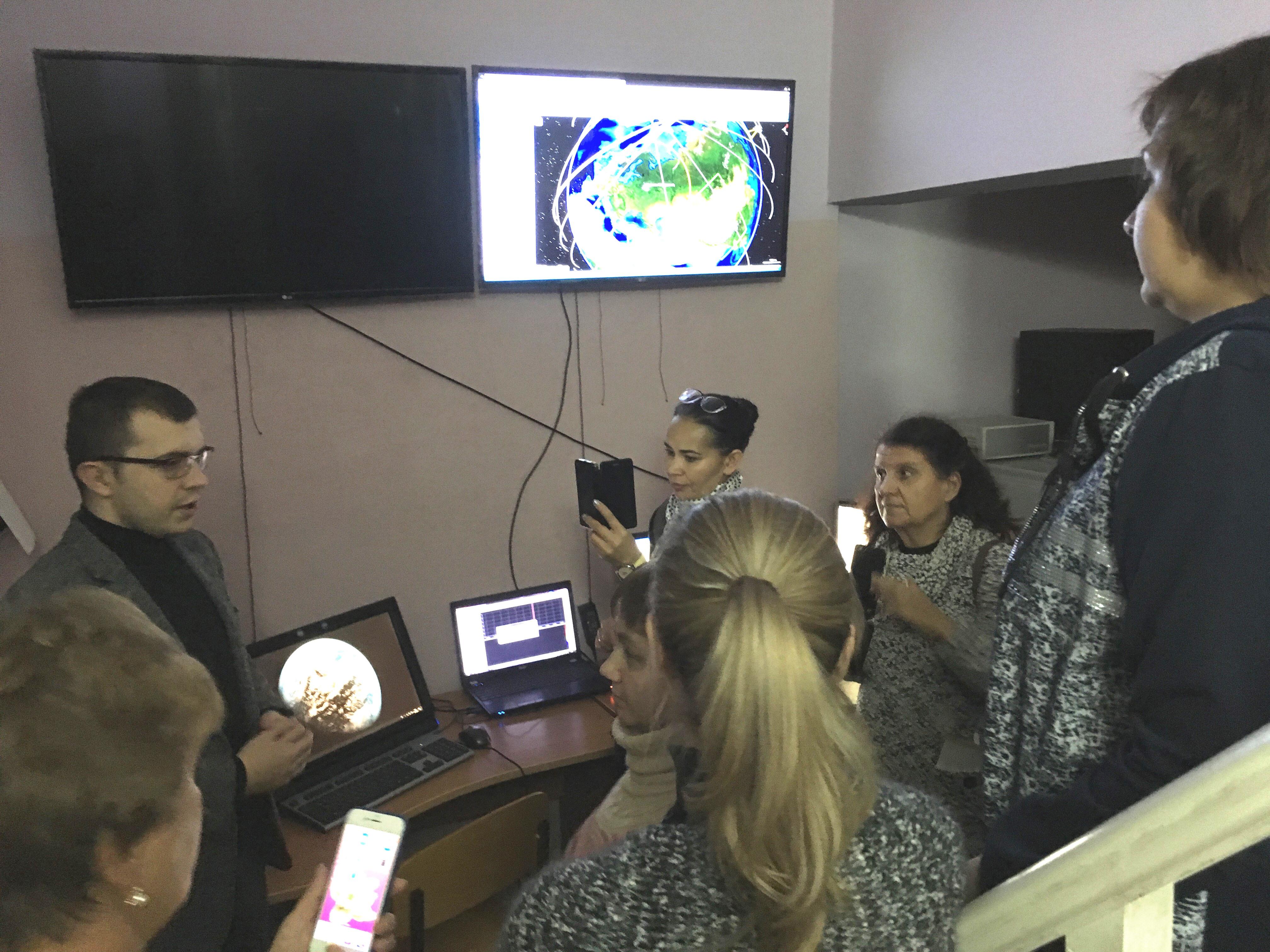 В центре космического мониторинга