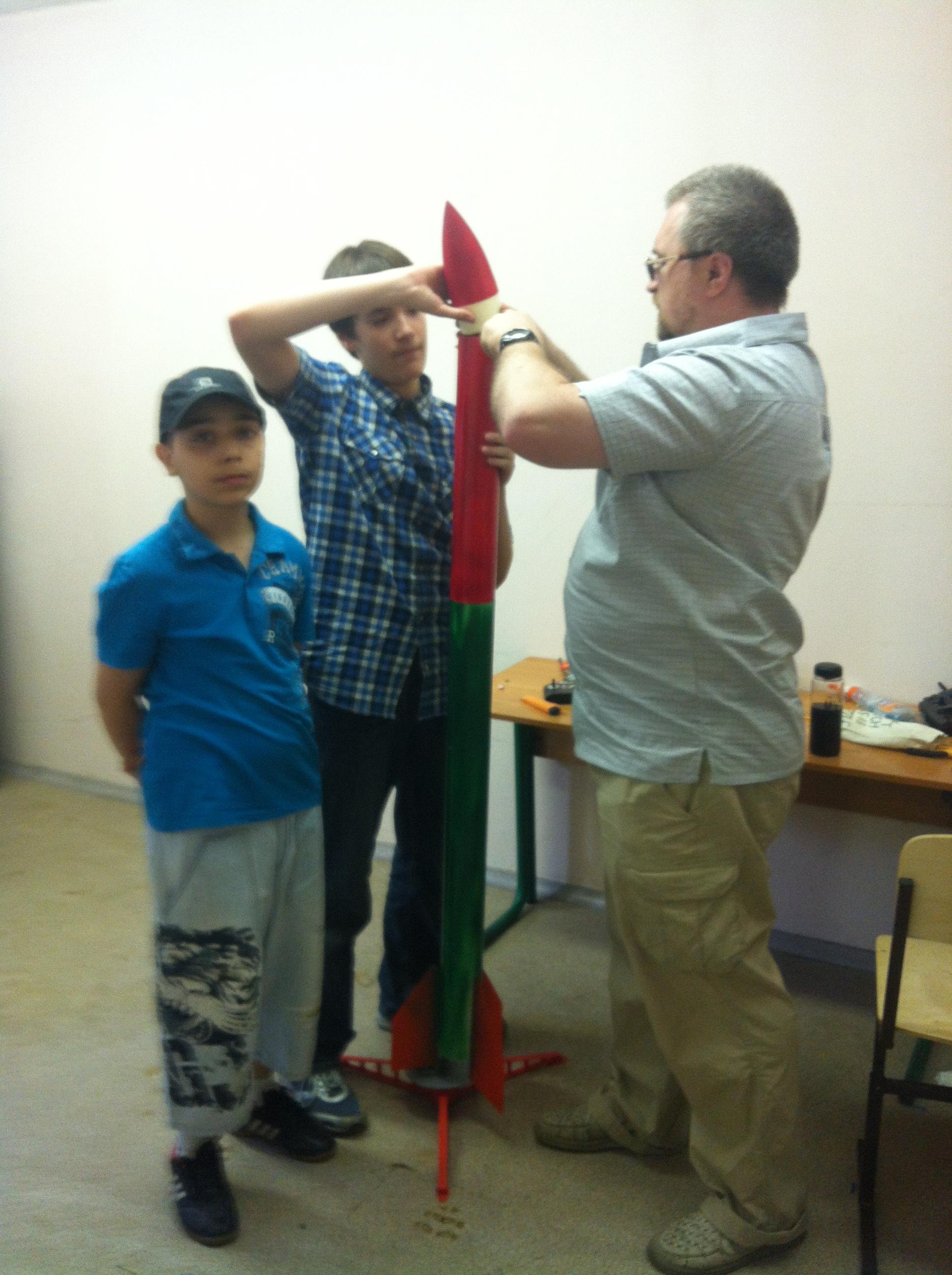 Наша новая исследовательская ракета Сириус