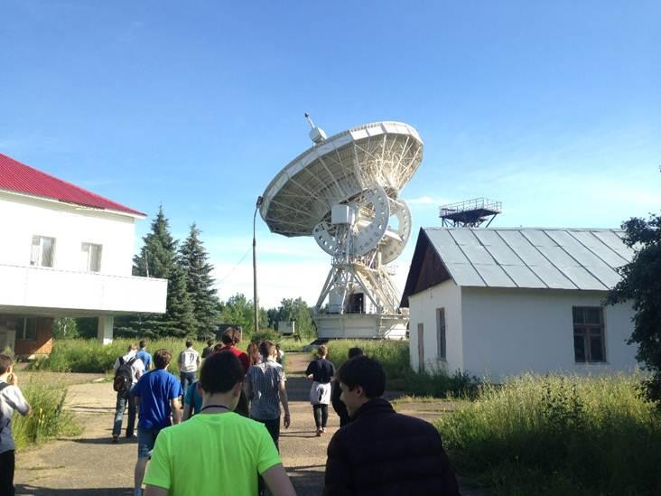 Экскурсия на самый старый российский радиотелескоп