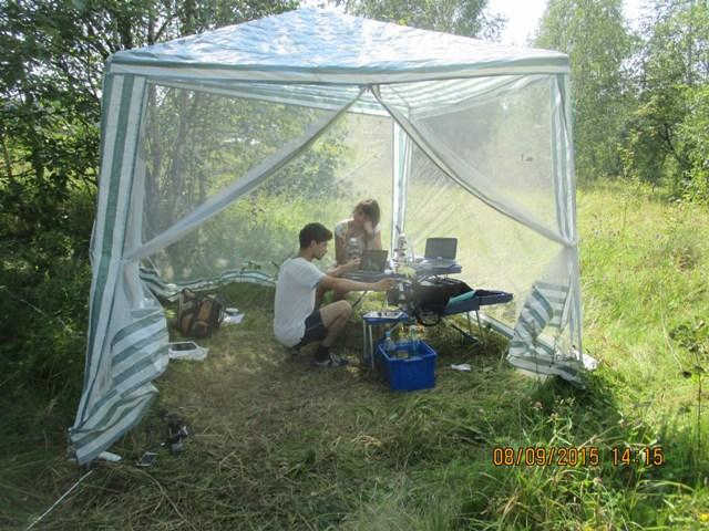 Работа в полевой цифровой лаборатории