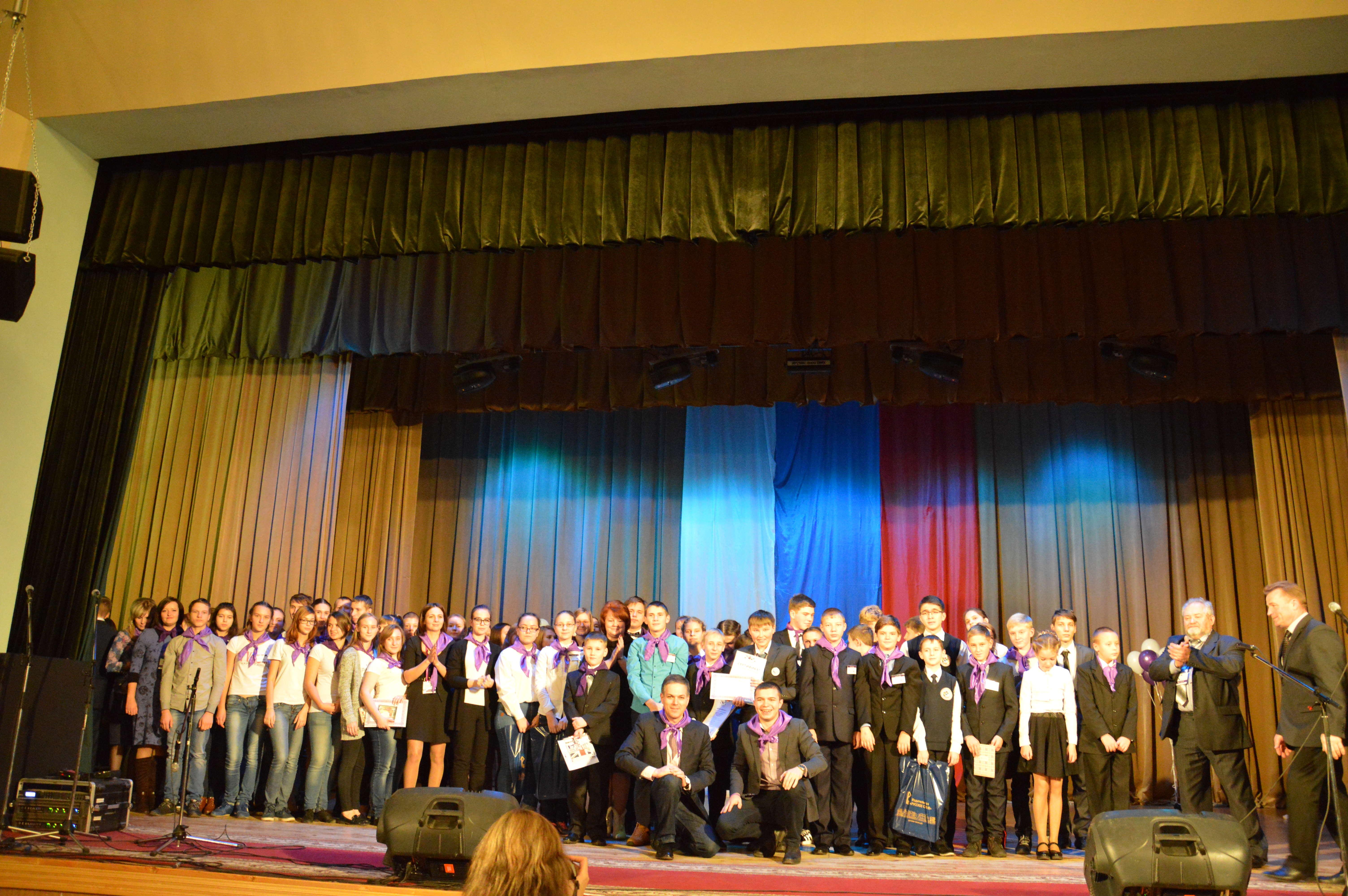 Общее фото участников финала фестиваля Космодис 3.0