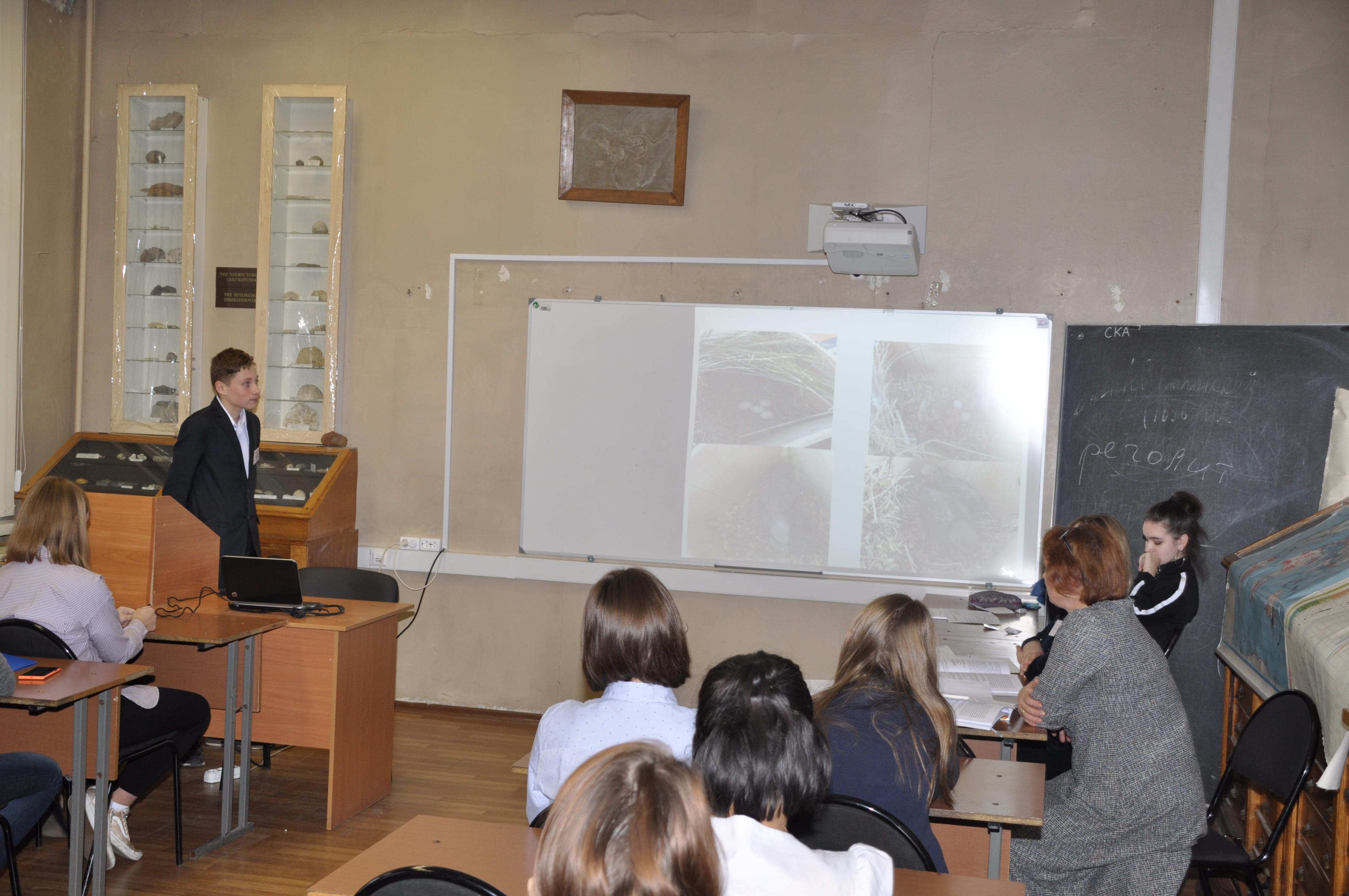 Выступает самый юный член нашей команды Павел Обрезков