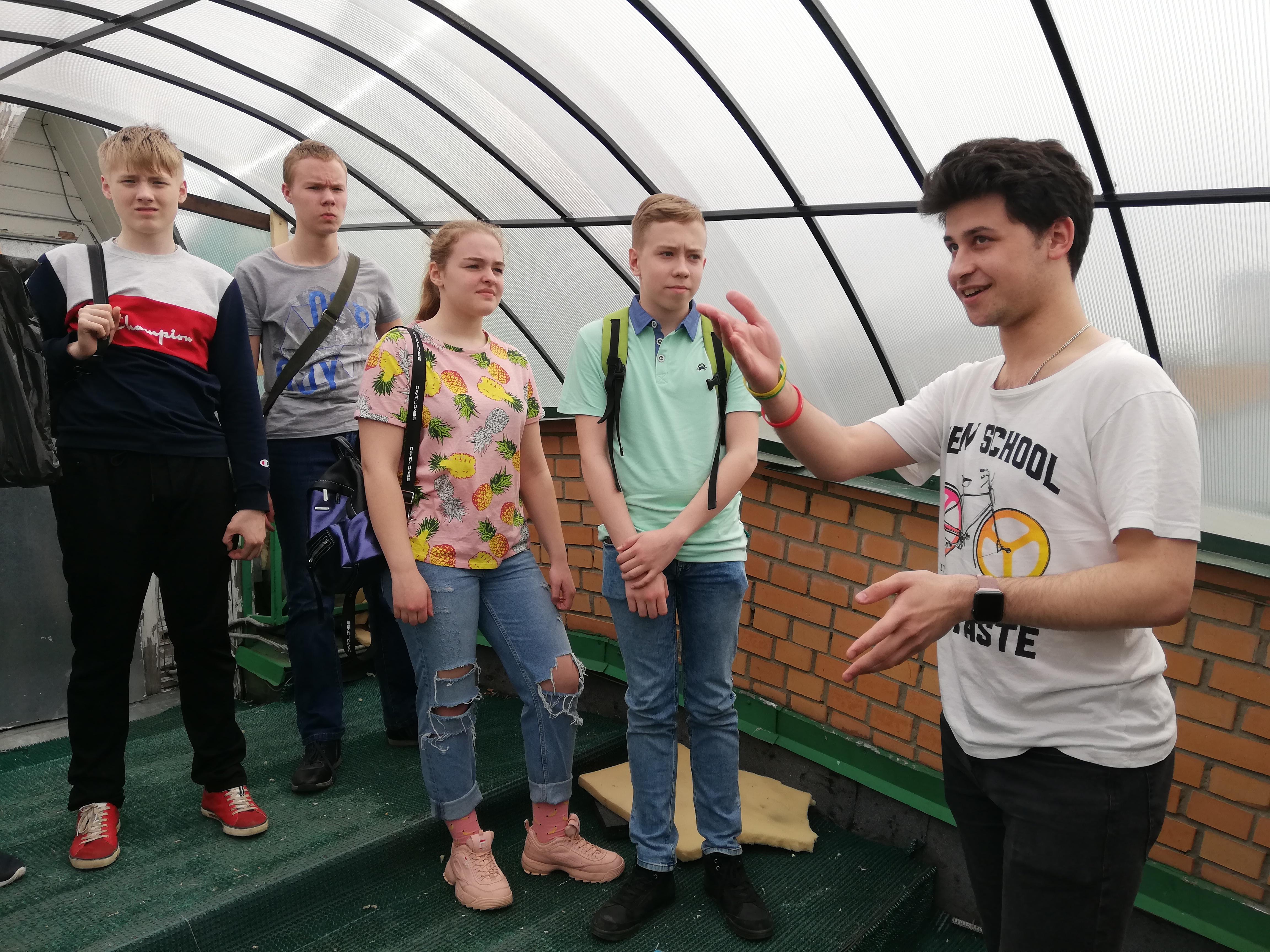 Знакомство учащихся со школьной обсерваторией