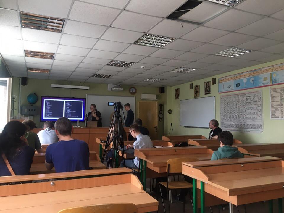 Рабочее совещания команды проекта Школьный космический телескоп