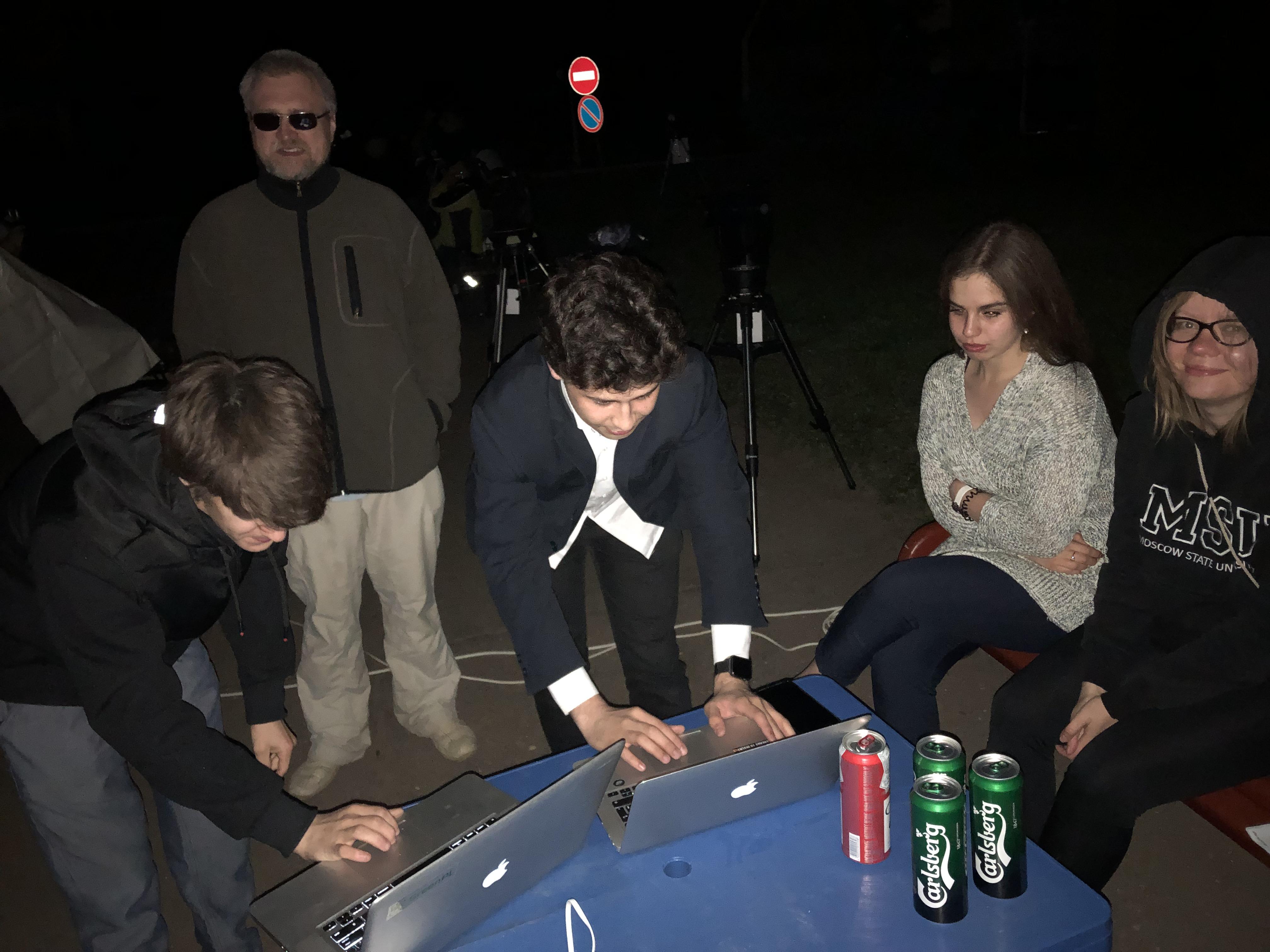 Теперь для наблюдений телескоп не нужен, достаточно компьютера, интернета, платформы GreenPL и ... пива