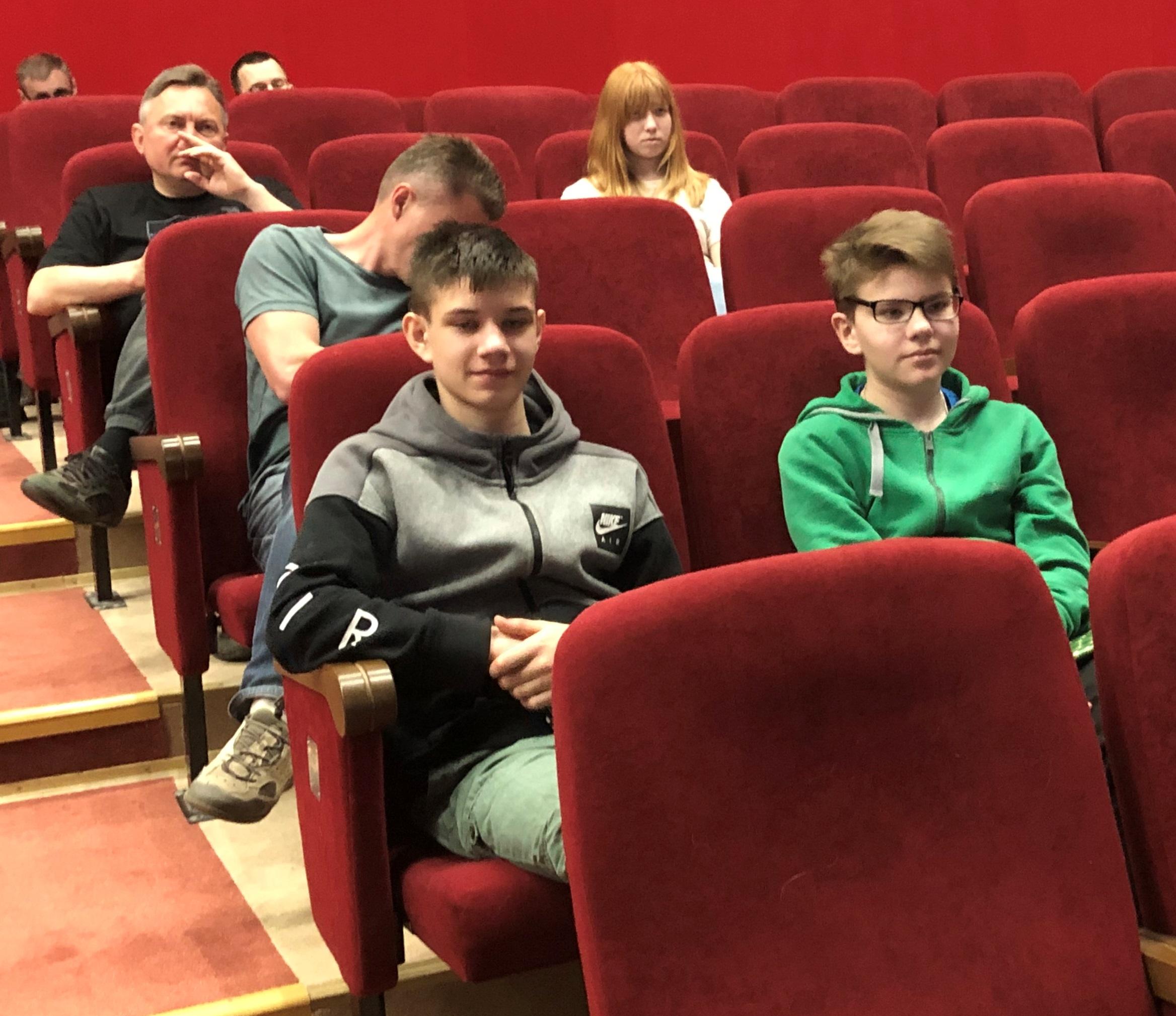 Юные члены команды почти все всемя проводили на лекциях