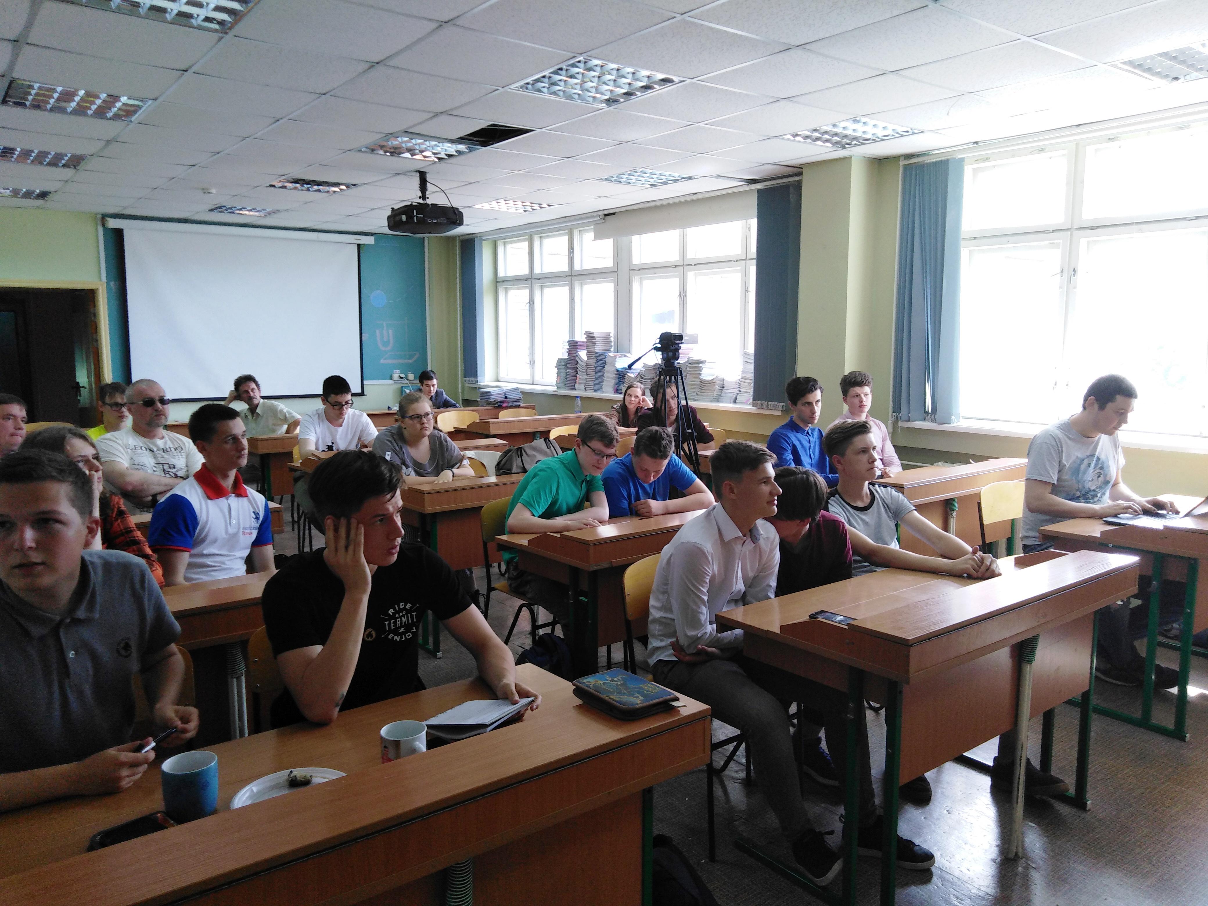 Команда проекта Школьный космический телескоп