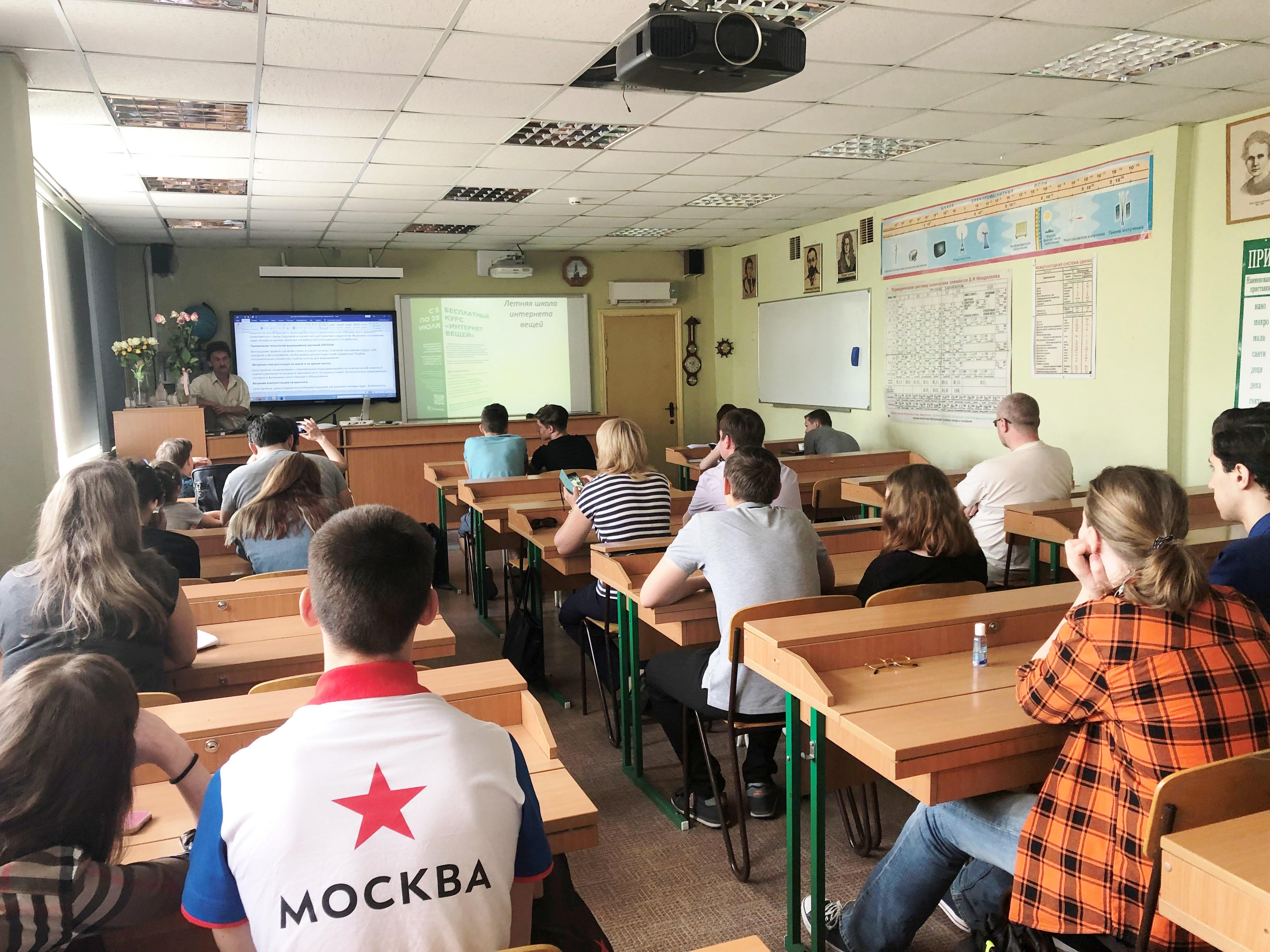 Летние проекты представляет С.М.Полянский