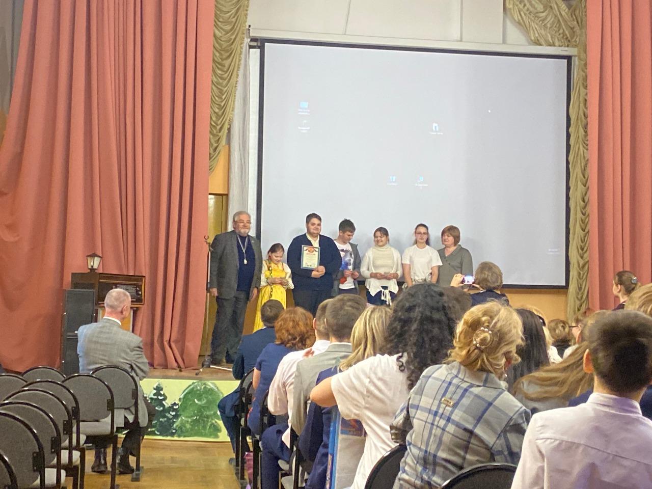 Награждение победителей и призеров слета