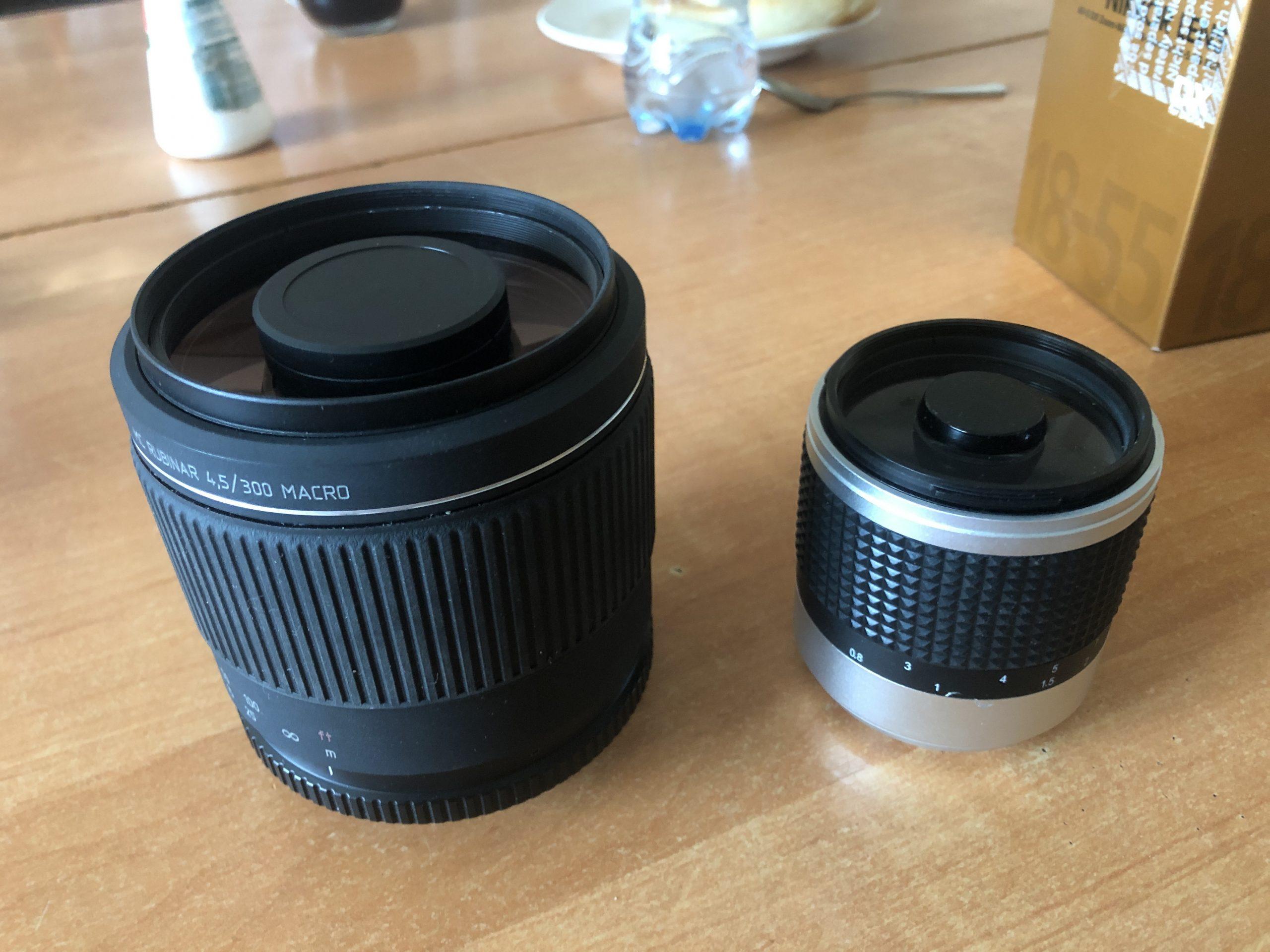 Новая и старая зеркальные камеры для космического телескопа