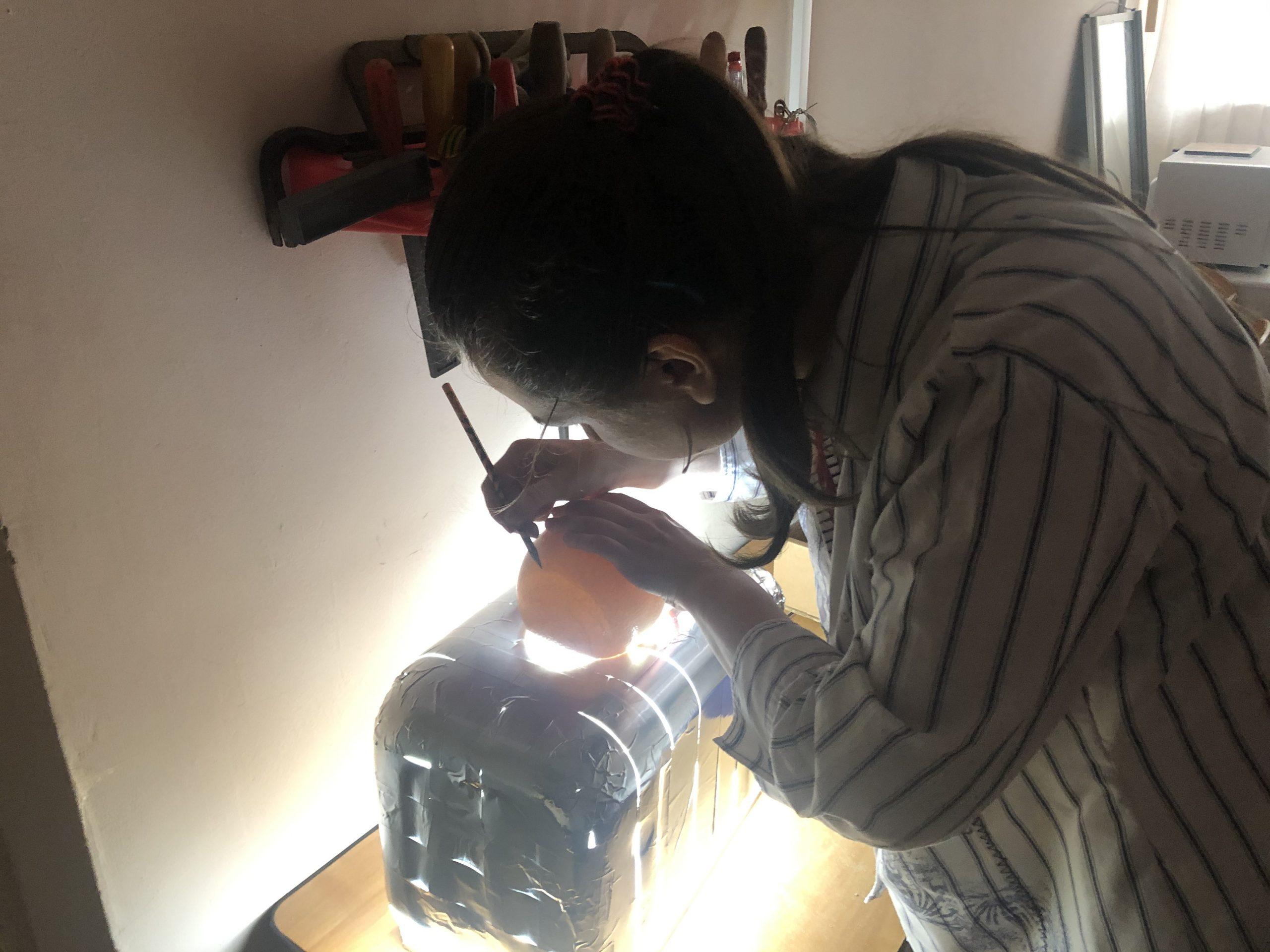 Оконтуривание воздушной камеры