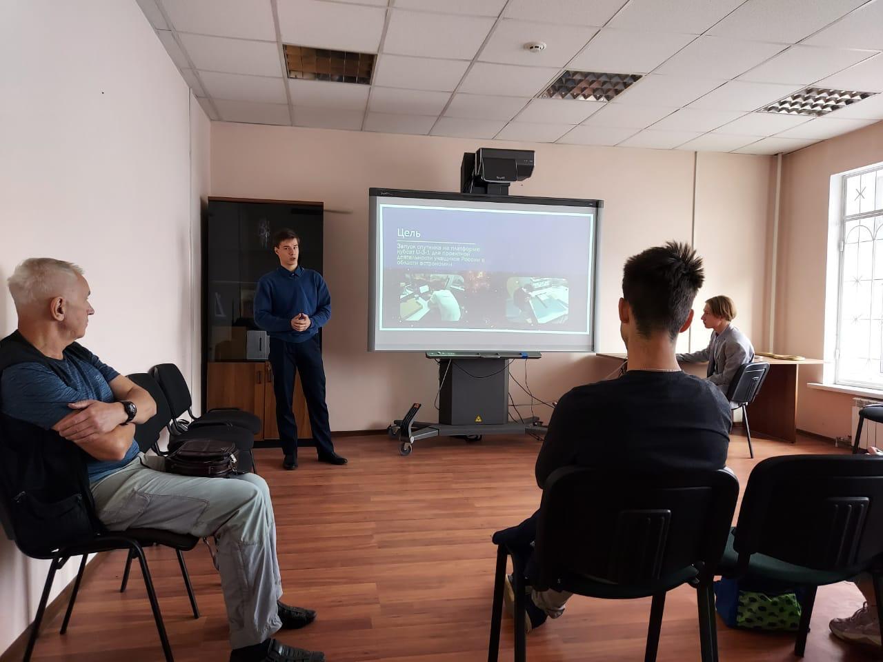Последние разработки проекта ШКТ докладывает Илья Атрошенко